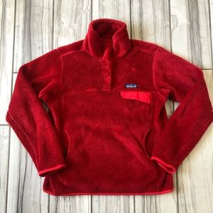 Patagonia re-tool fleece pullover. EUC like new
